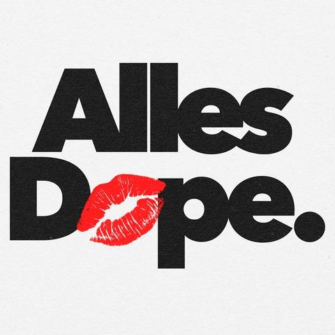√Alles Dope Kiss von CRO - Poster jetzt im Cro Shop Shop