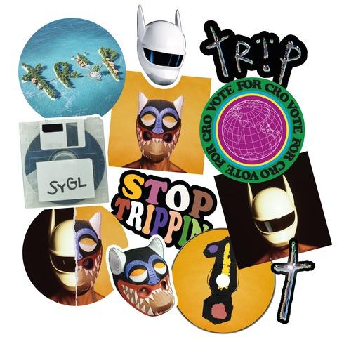 Trip I - Sticker Set 12 Piece by CRO - Sticker - shop now at Cro Shop store